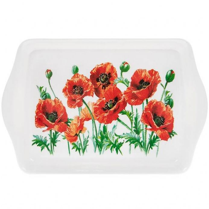 Poppy Field Small Tray